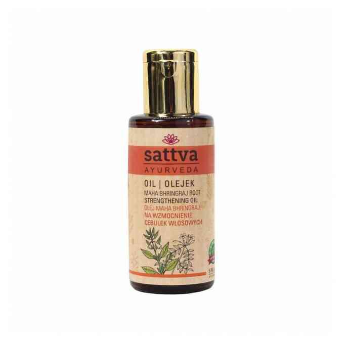 olejek do włosów Sattva na wzmocnienie