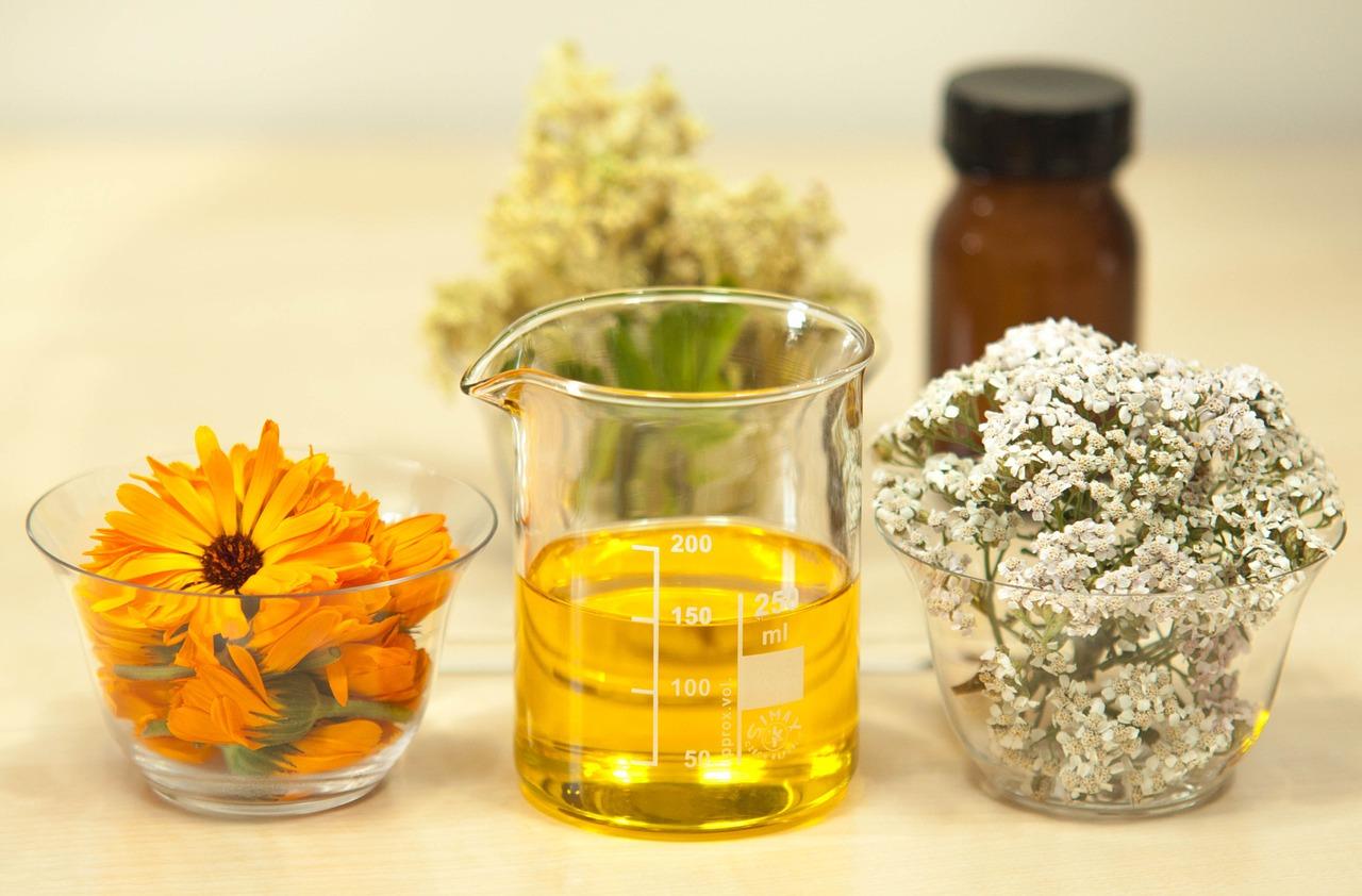 naturalne olejki jako kosmetyki